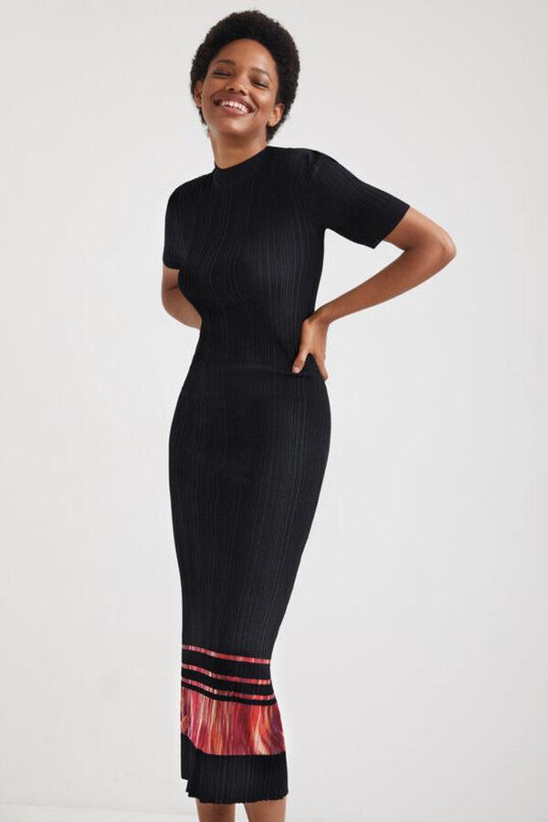 Desigual fekete ruha Misuri – XS – Desigual✅