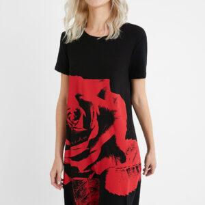 Desigual fekete ruha Vest Washintong - XS - Desigual✅