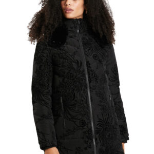 Desigual fekete téli kabát Desigual Japan - XXL - Desigual✅