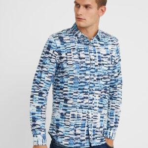 Desigual kék-fehér férfi ing Cam Adel - S - Desigual✅