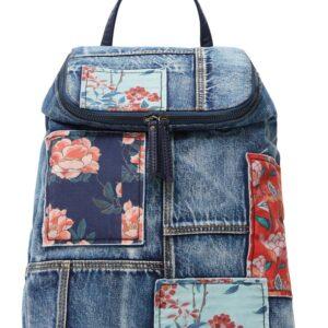 Desigual kék hátizsák Beta Patch Loen - Desigual✅