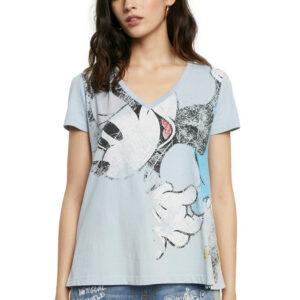 Desigual kék póló TS Minnie - S - Desigual✅