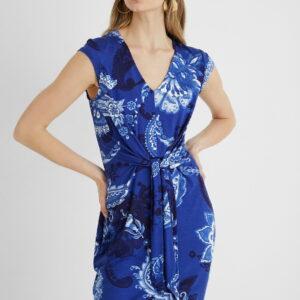 Desigual kék ruha Vest Sibila - S - Desigual✅