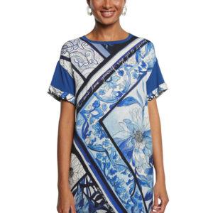 Desigual kék ruha Vest Solimar - XS - Desigual✅