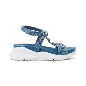 Desigual kék szandál Shoes Yuniker Denim - 40 - Desigual✅