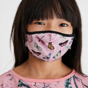 Desigual kétoldalas gyerek maszk Mask Kids Mariposa - Desigual✅
