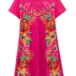 Desigual rózsaszín lányos ruha Vest Lucy - 7/8 - Desigual✅