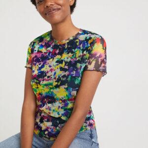 Desigual színes póló Eloisse - XXL - Desigual✅