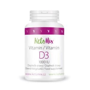 D3-vitamin (30 kapszula) - Proteindús ételek KETOMIX