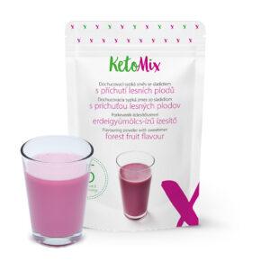 Koktél ízesítő - erdei gyümölcsök - 45 g - Proteindús ételek KETOMIX