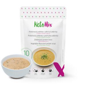 Zöldségízű protein leves (10 adag) - Proteindús ételek KETOMIX