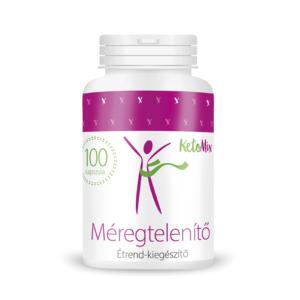 Detox (100 kapszula) - Proteindús ételek KETOMIX