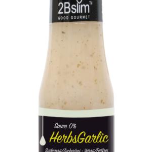 Kalóriamentes fokhagymás-fűszernövényes öntet 250 ml - Proteindús ételek KETOMIX