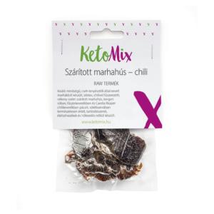 Szárított marhahús – chili 25 g - Proteindús ételek KETOMIX