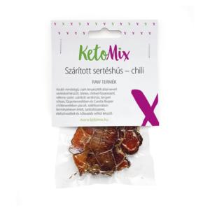 Szárított sertéshús – chili 25 g - Proteindús ételek KETOMIX
