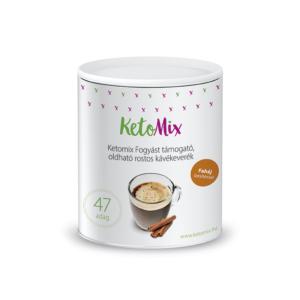 Fogyást támogató instant kávé - fahéjízű (47 adag) - Proteindús ételek KETOMIX