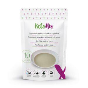 Borsóízű protein leves (10 adag) - Proteindús ételek KETOMIX