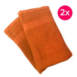 Homa törölköző narancssárga 2x 50x100cm